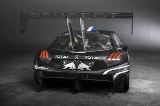 Peugeot 208 T16 2013 Rear