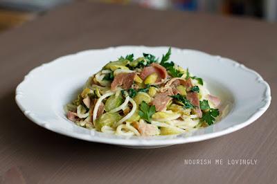 ham_and_asparagus_GF_pasta