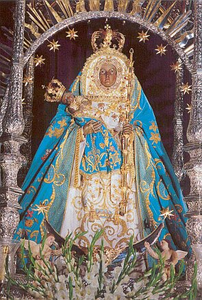 VIRGEN  DE CANDELARIA