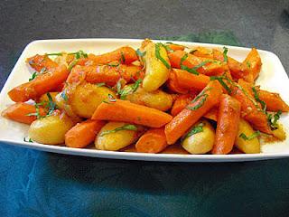 Carottes et pommes de terre au Ras El Hanout