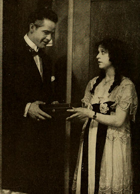 Charlotte Burton and William Russell