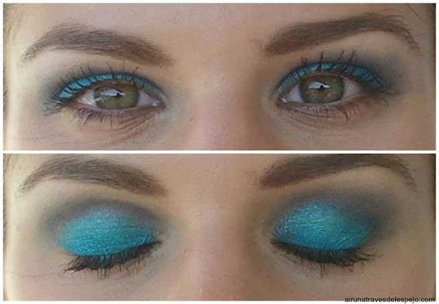 look ojos azules