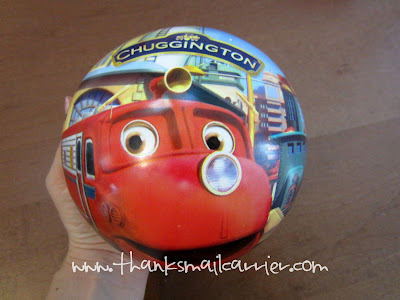 Chuggington Vinyl Playball