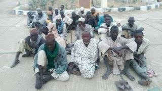 1,050 Boko Haram insurgents surrender, many still at large – Arm
