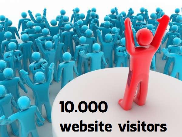 Buy 10000 Website Visitors Traffic