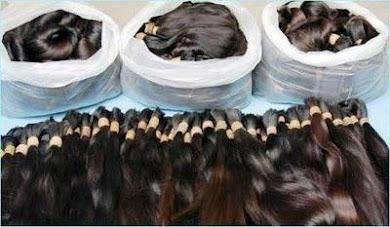 """Cabelo Bruto - """" Semi - Limpo"""" - O melhor cabelo do Brasil com o melhor preço !!!"""
