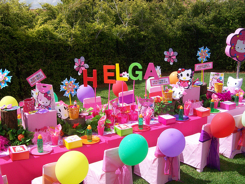 Fiesta hello kitty party ideas decoracion en fiestas - Ideas para decorar fiestas ...