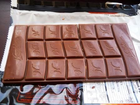 Chocolate Neugebauer con maní