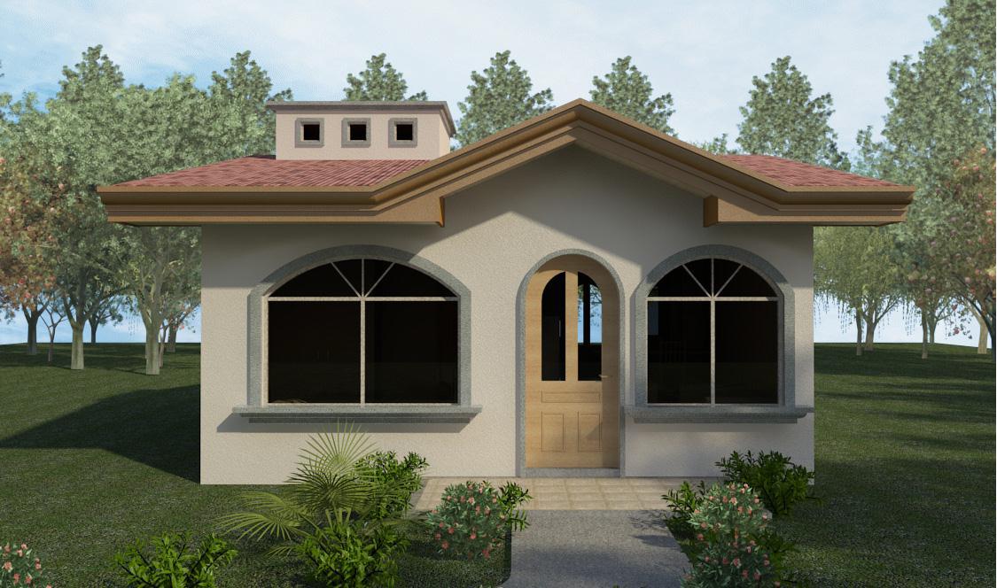 Casas prefabricadas costa rica modelo llave en mano planos for Casas prefabricadas financiadas