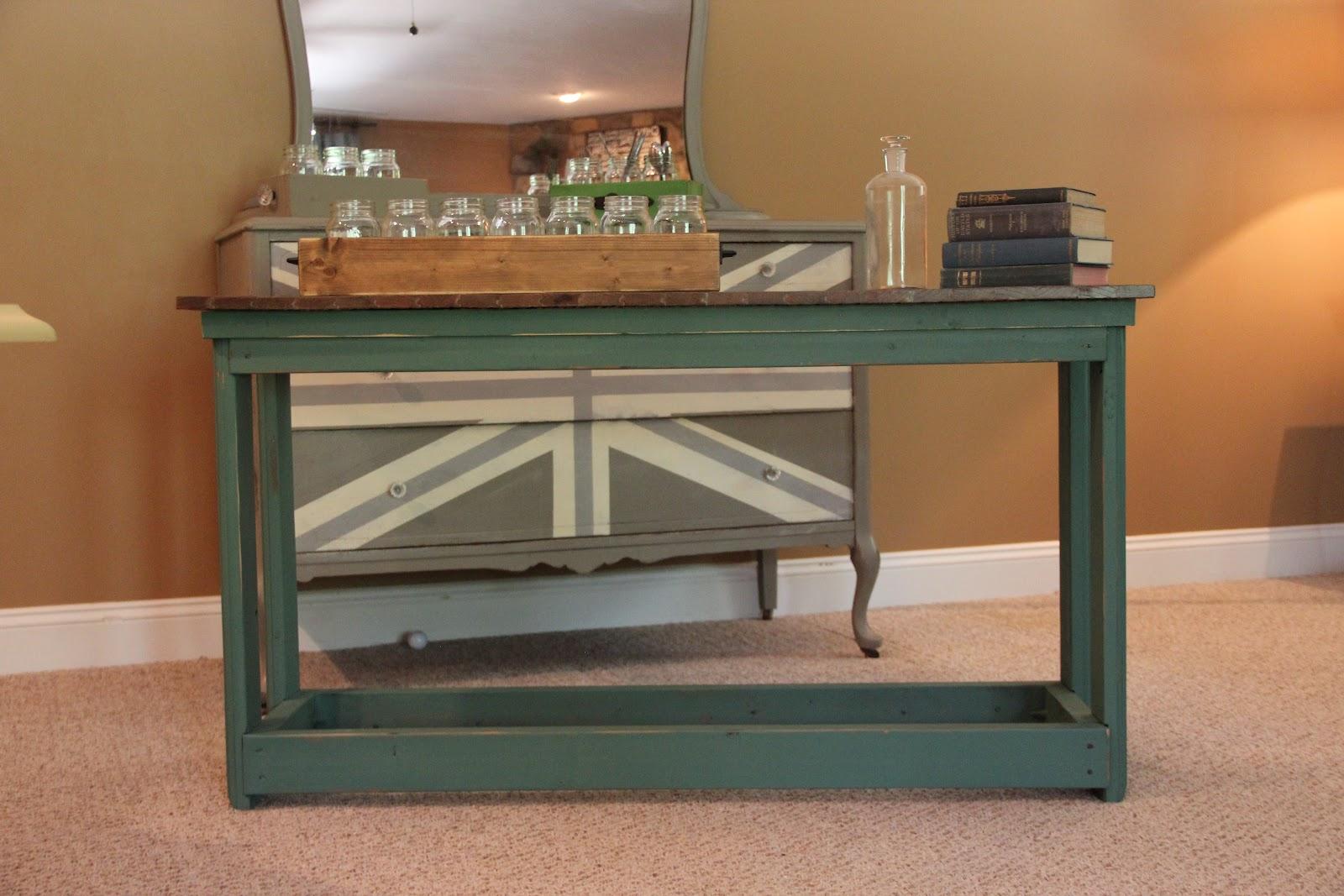 Rustic buffet table furniture - Rustic Buffet Table