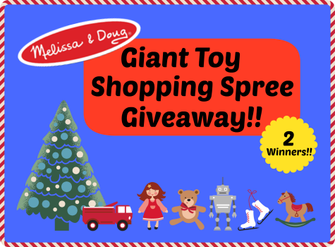 Melissa and Doug Giveaway! Two winners - $150 g.c. each! www.GrowingUpTriplets.com #giveaway #toddlers #preschool #play
