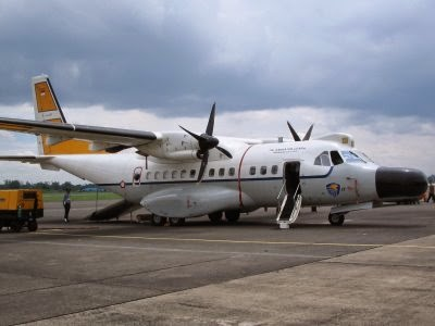 Pesawat cn 235 Indonesia Pesawat cn 235-mpa Diekspor ke