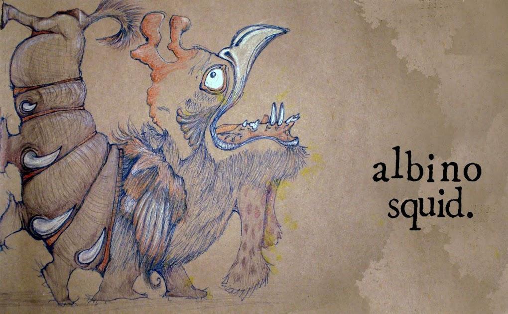 albinosquid artblog