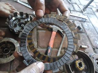 Cara Memperbaiki Kopling Sepeda Motor Selip