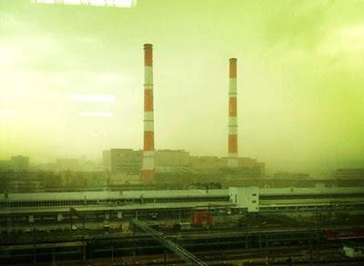 nube verde en rusia 2012