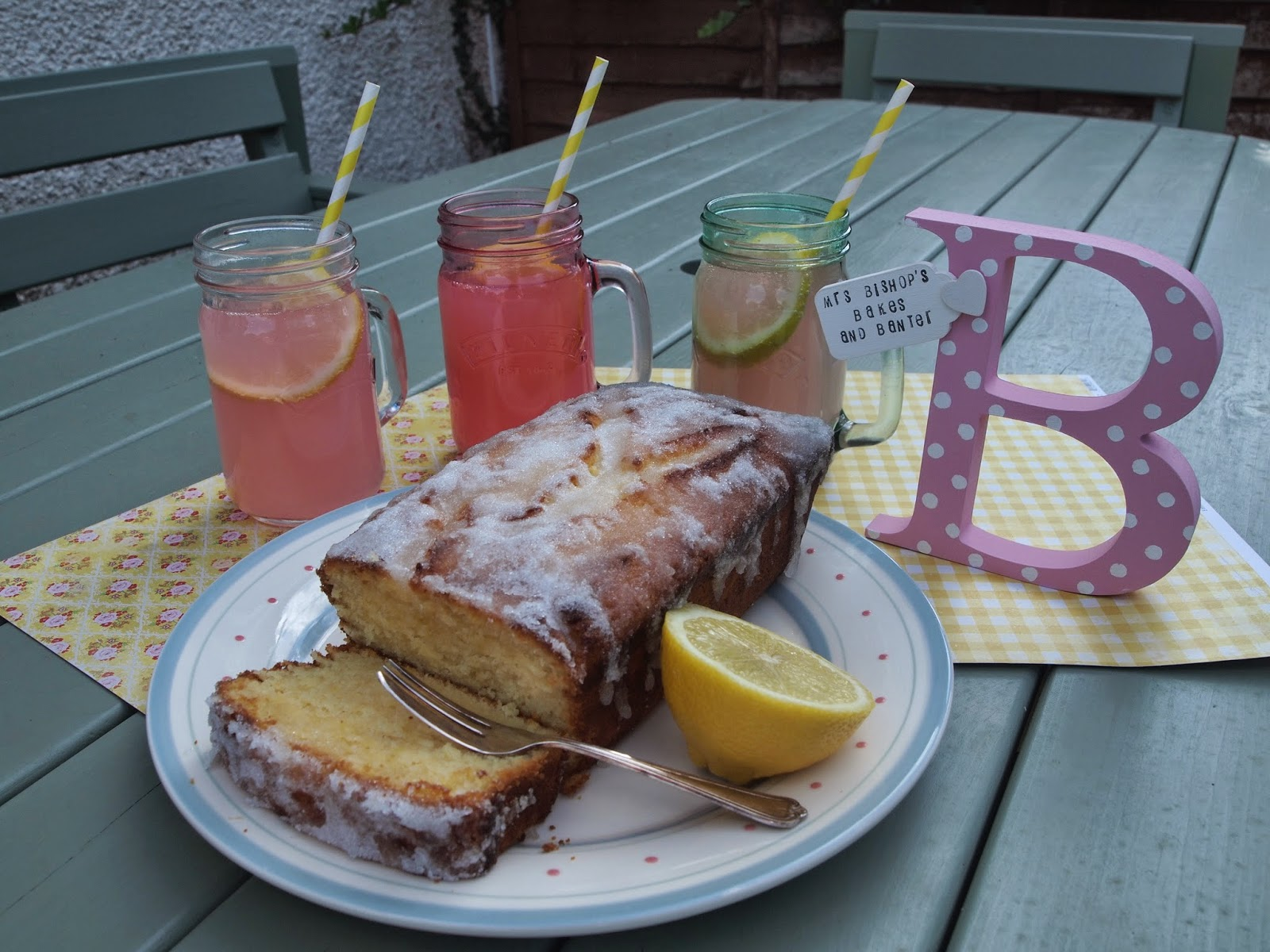 Mrs Bishop's Bakes and Banter: GIN AND TONIC CAKE (Yes…Cake!!) with ...