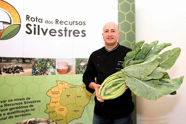 Divulgação: Chef António Nobre cria receitas exclusivas com Recursos Silvestres - reservarecomendada.blogspot.pt