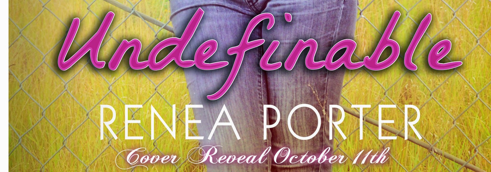 Cover Reveal: Undefinable by Renea Porter