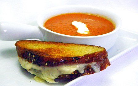 The Chew The Blog: Michael Symon's Spicy Tomato and Blue ...