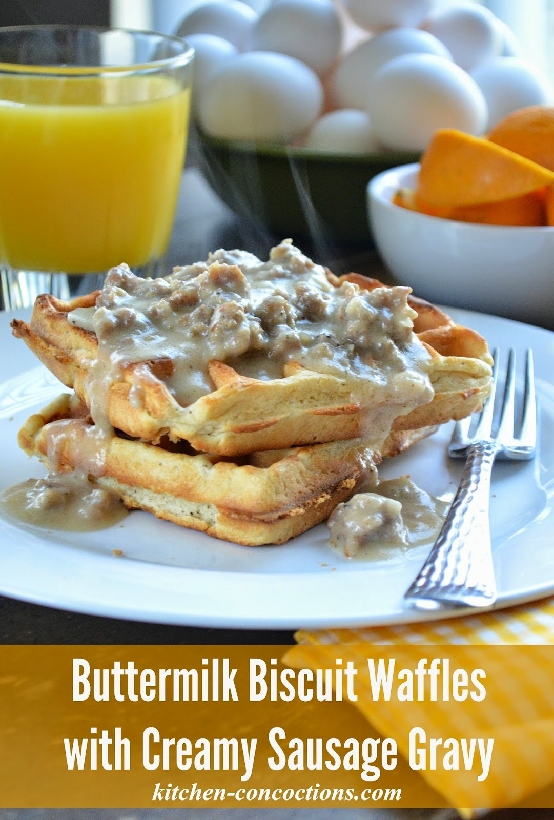 Buttermilk Biscuits And Sausage Gravy Recipe — Dishmaps