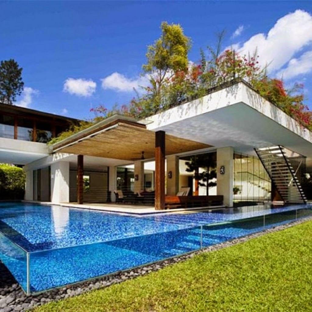 Inspiration Design Luxurious Roof Garden