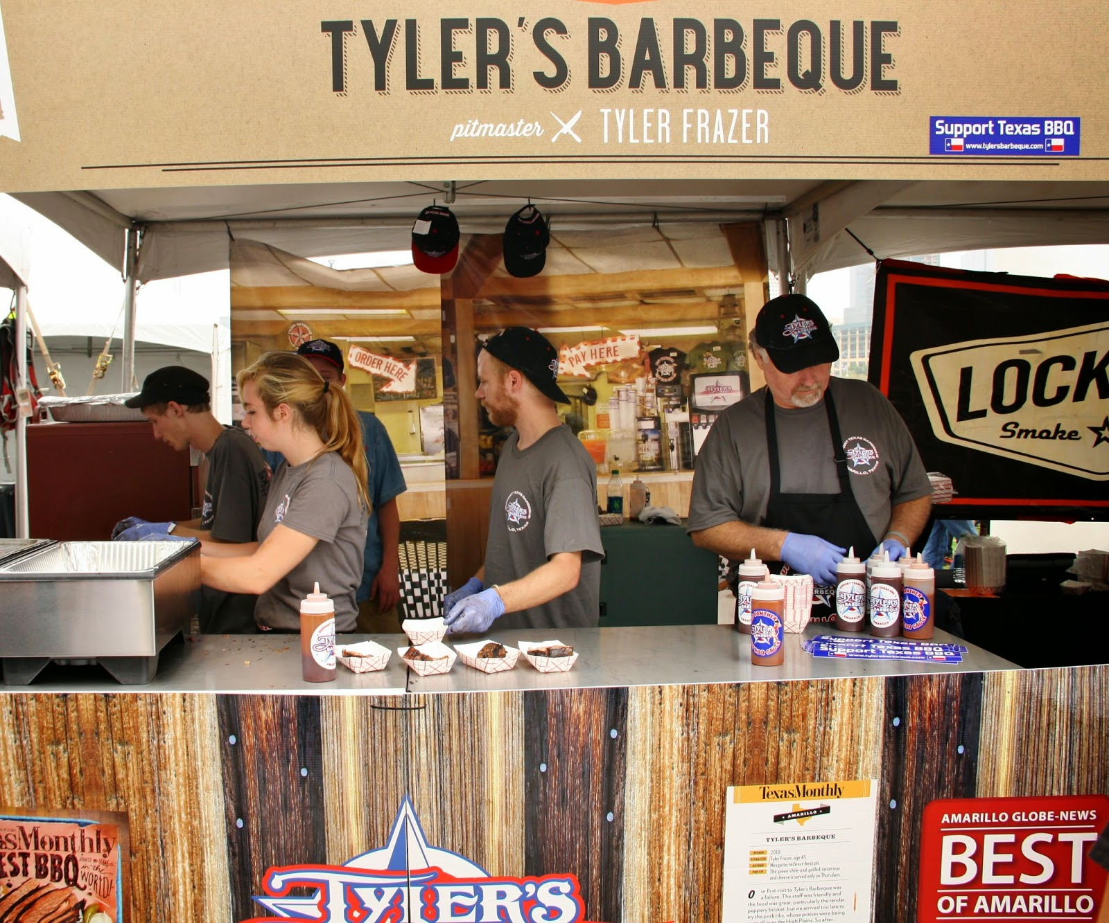 Tyler's BBQ at TMBBQ Fest