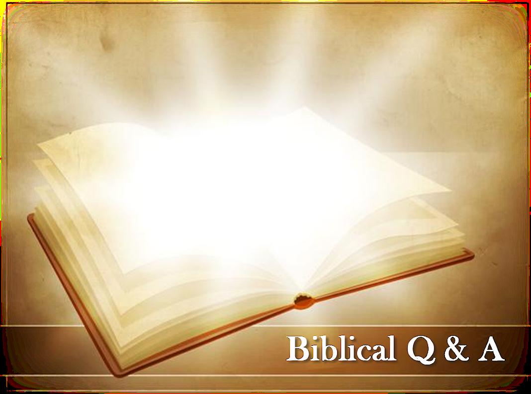 Biblical Q & A