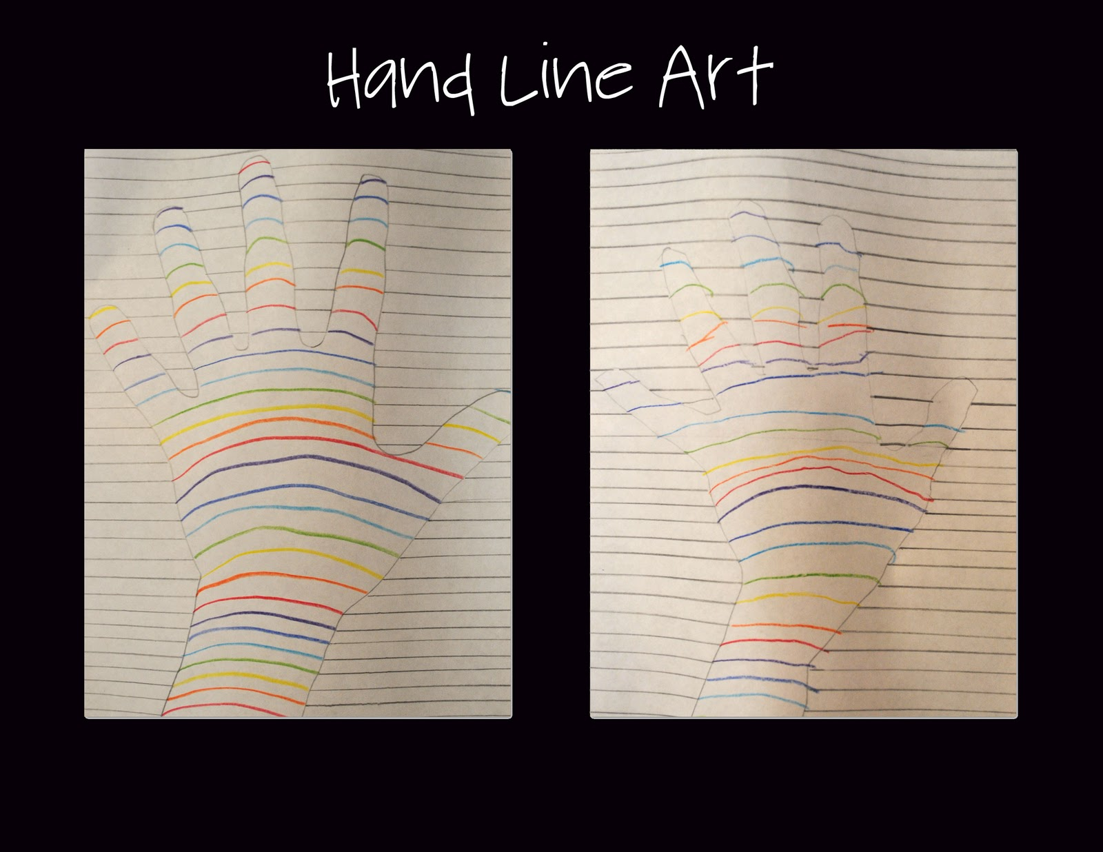 Line Project Art : It s on the tip of my tongue project pinterest hand