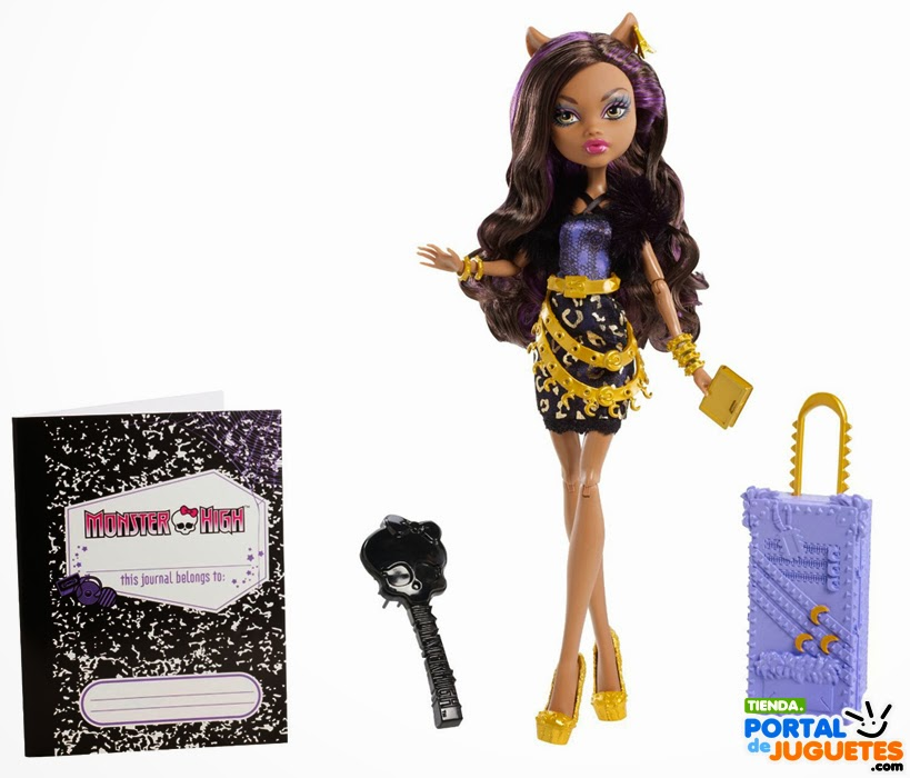 Muñeca Claudeen Wolf  Monster High  Scaris Deluxe