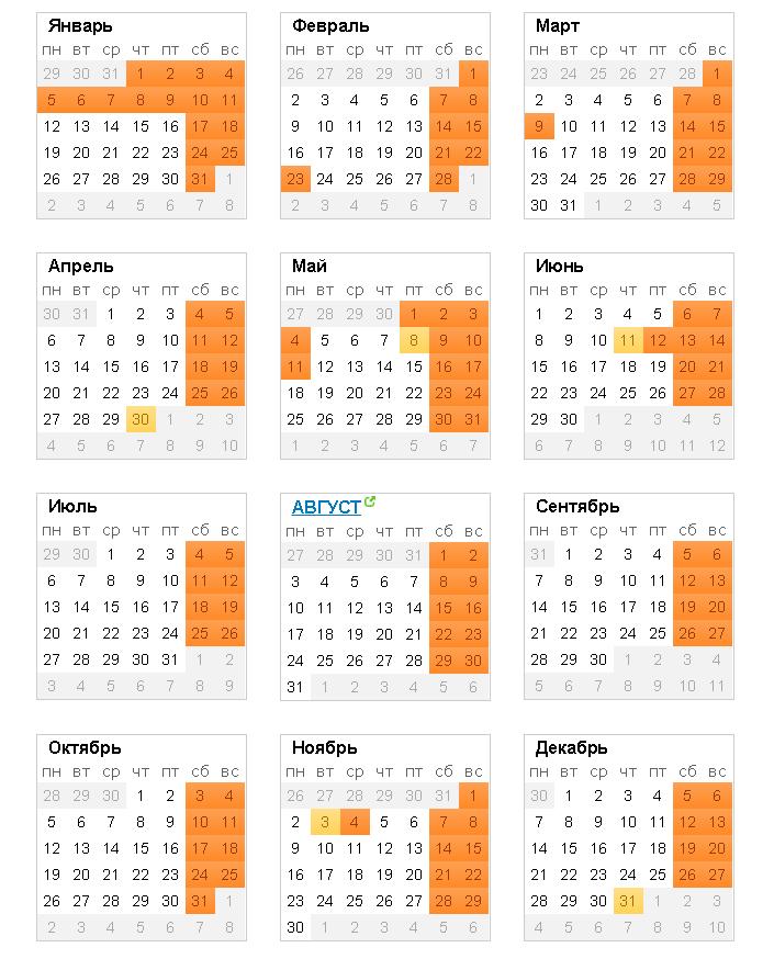 Все праздники 13 февраля 2017