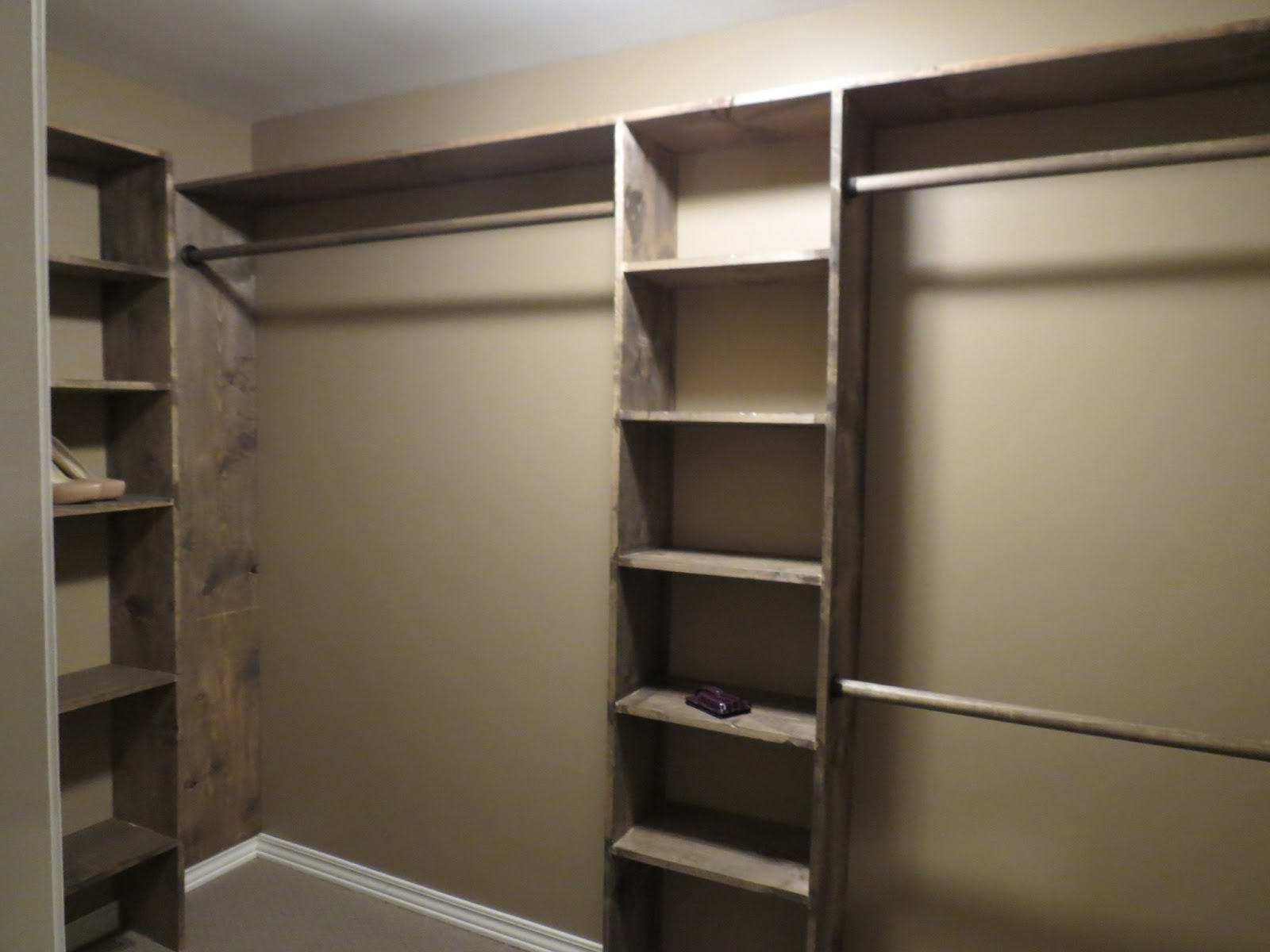 Lets Just Build A House Walk In Closets No More Living Out Of