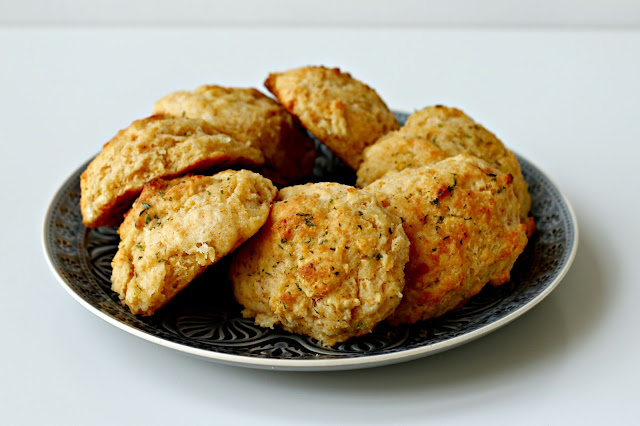 Milk and Honey: Cheddar Cheese Scones