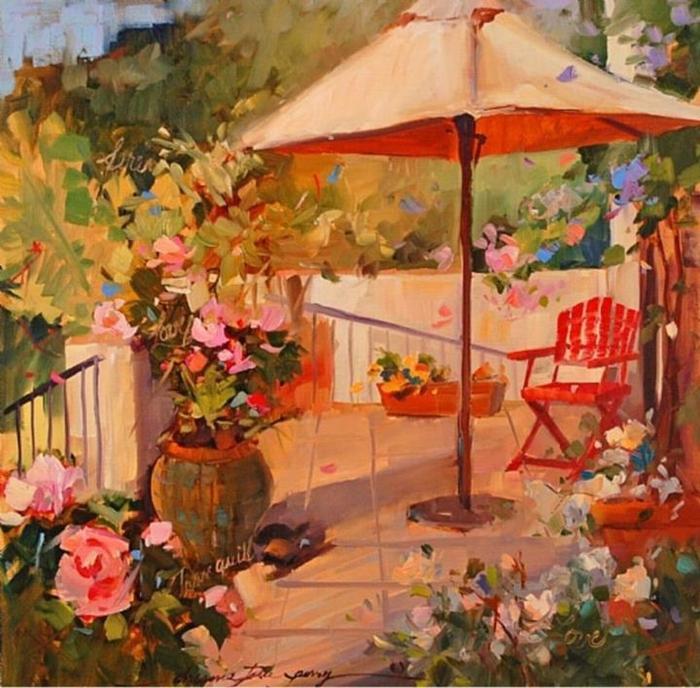 Joe Anna Arnett 1950 American Still life painter