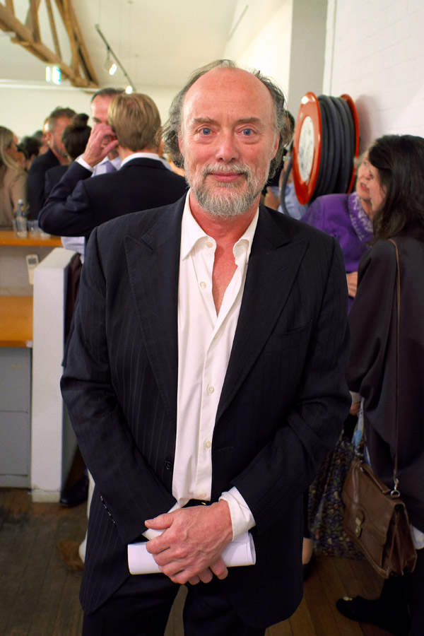 Artist Portrait, Bill Henson at the opening of his 2012 show at Roslyn Oxley 9 Gallery, Sydney Australia.