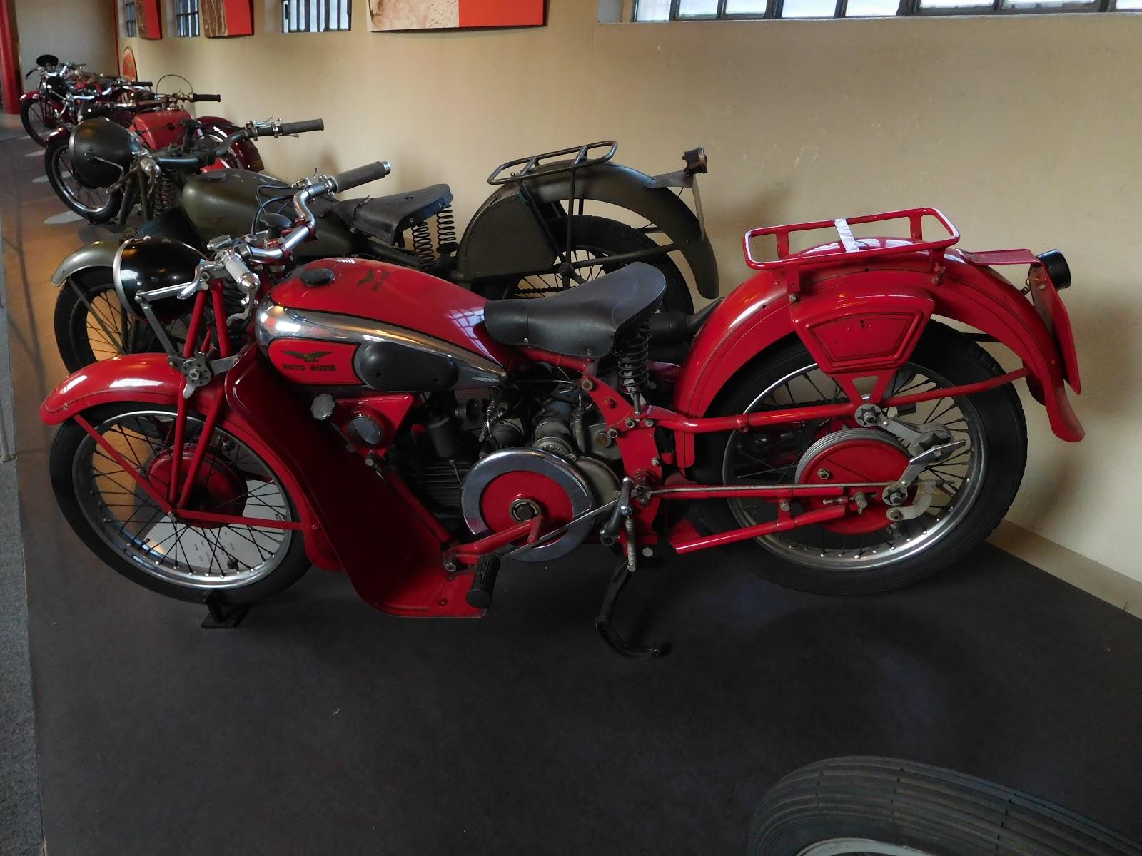 NYDucati: 1934-47 Moto Guzzi GTW 500