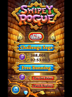 Game Swipey Rogue Mod Apk Unlimited Money + Gems New Version