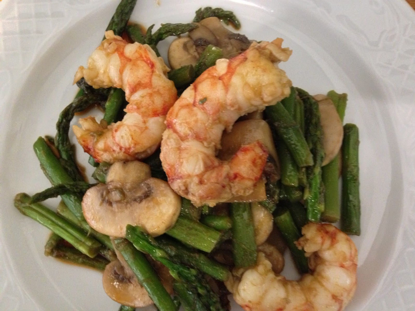 Recetas de juan wok de esparragos trigueros champi ones - Como hacer verduras salteadas ...