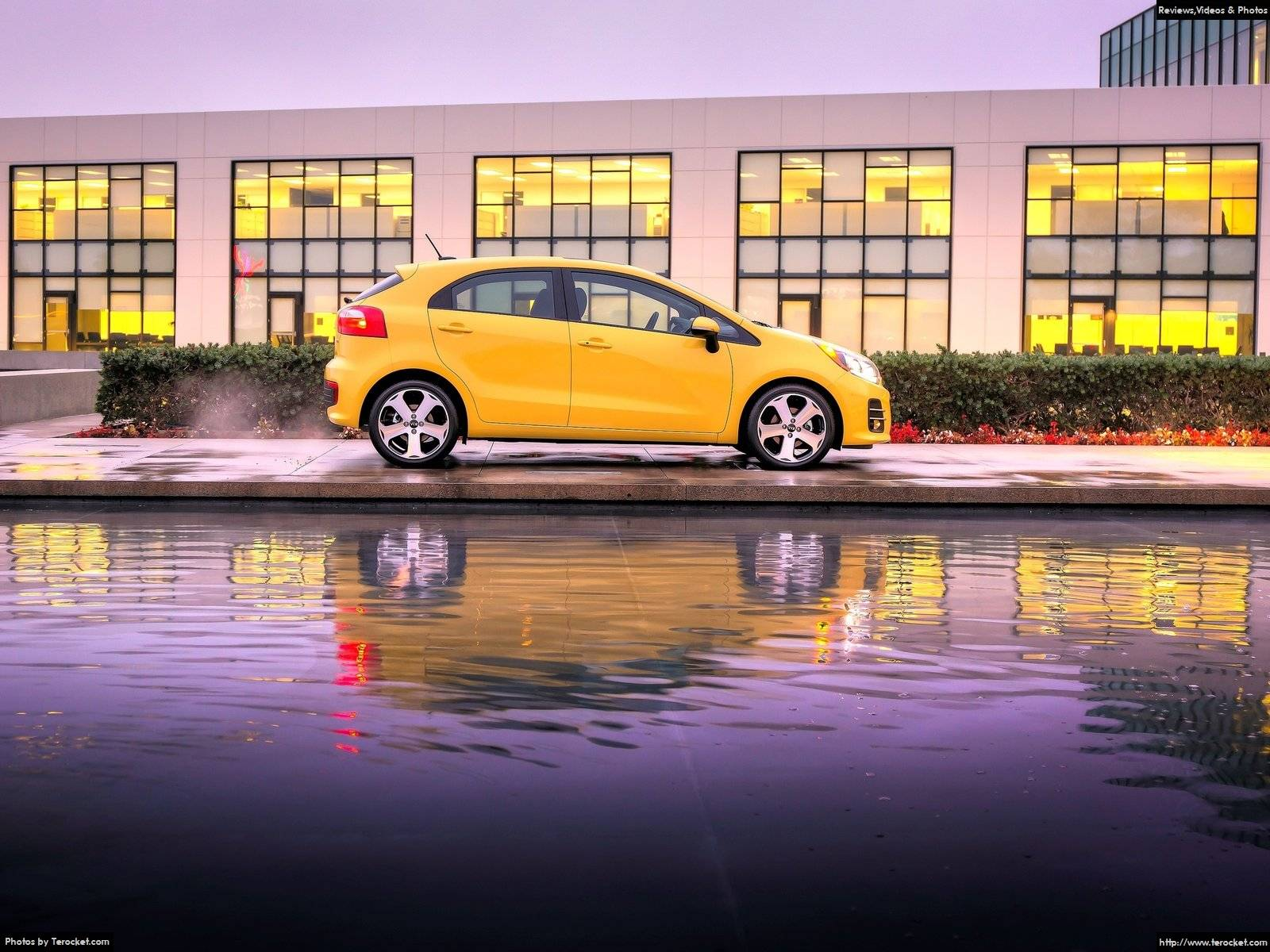 Hình ảnh xe ô tô Kia Rio 5-door 2016 & nội ngoại thất