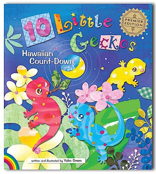 10 Little Geckos