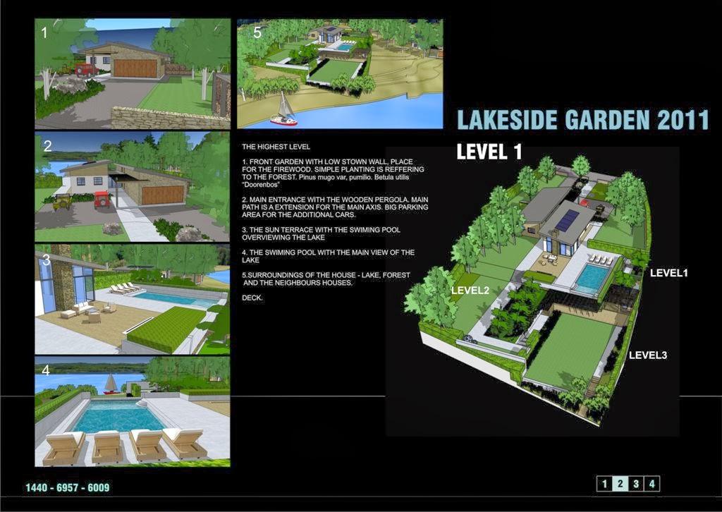 Wyróżnienie w Slant Garden Design Competition