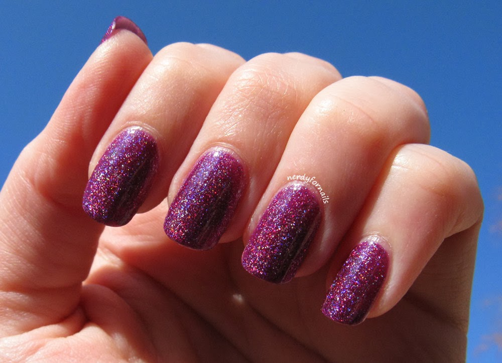 Zoya Aurora in the sunlight