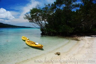 kayaking pearl farm beach resort davao
