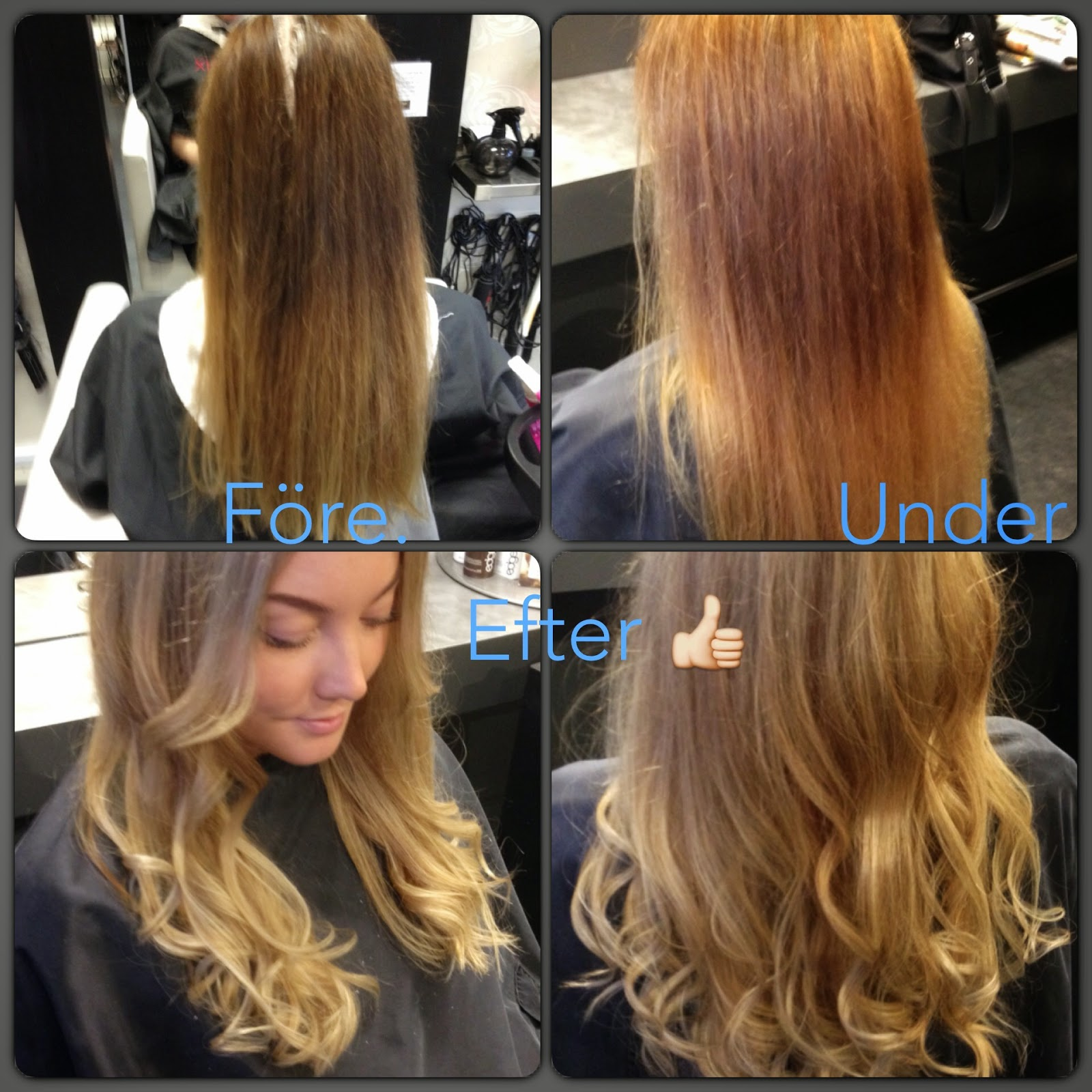 ljusa upp håret utan blekning