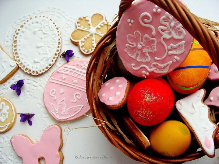 ciasteczka lukrowane
