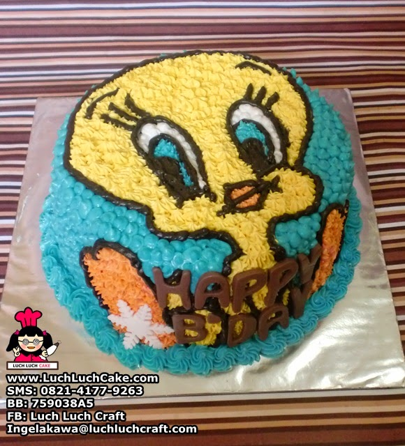 Kue Tart Mini Tweety
