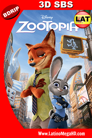 Zootopia (2016) Latino Full HD 3D SBS BDRIP 1080P ()