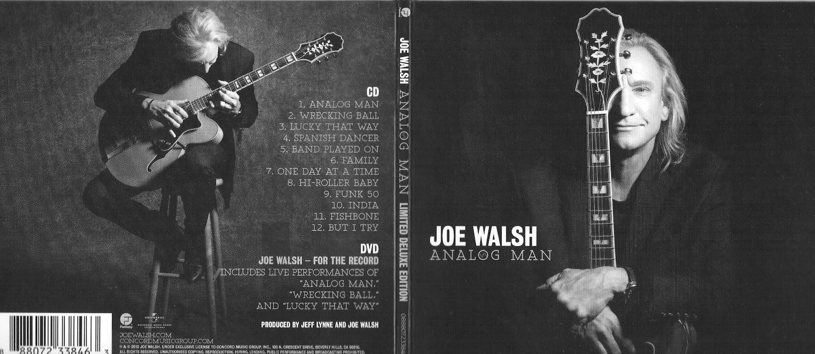 Elobeatlesforever Review Analog Man Joe Walsh