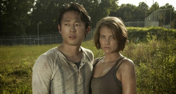 Glenn y Maggie: The Walking Dead