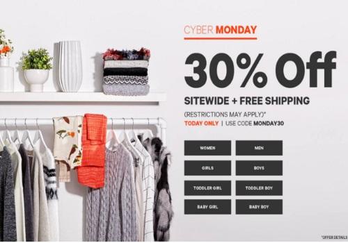 Joe Fresh Cyber Monday 30% Off + Free Shipping Promo Code