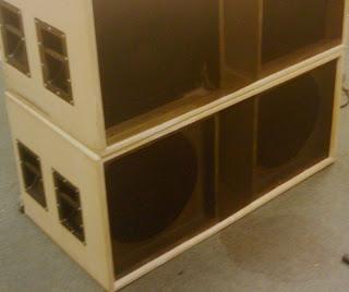 Box speaker subwoofer 2x 15 inch for Ukuran box salon 8 inch